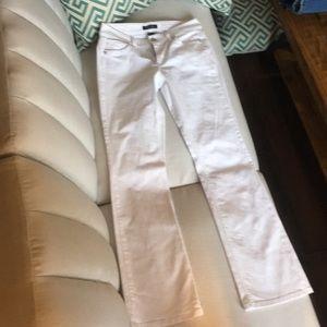 White House Black Market white jean size 27/4 EUC